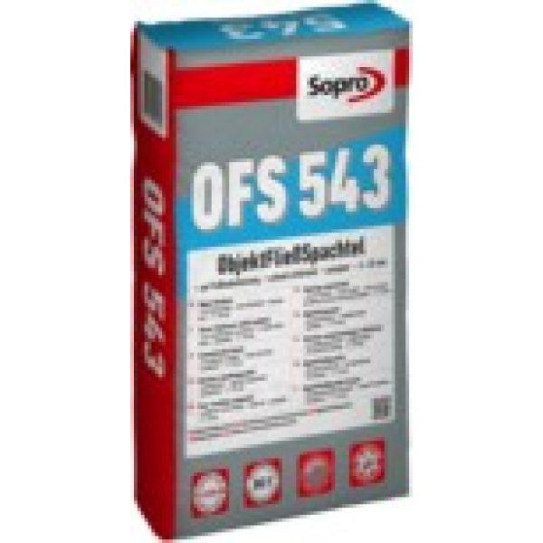 SOPRO OFS 543 ObjektFließSpachtel - 25 kg