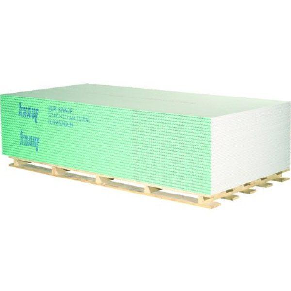 KNAUF Gipskarton Feuchtimprägniert H15 GKBI 15mm