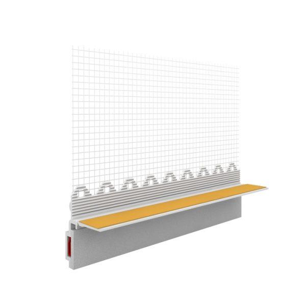 SOLID Fensteranschlußprofil mit Gewebe
