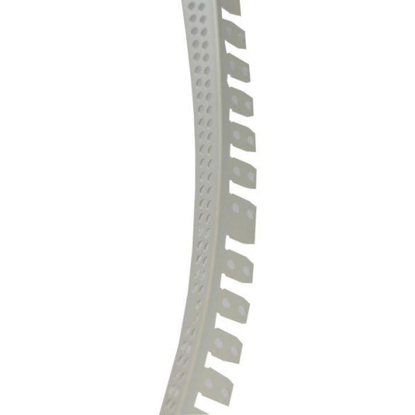 SOLID PVC-Eckschutzprofil für Rundbogen, 300cm