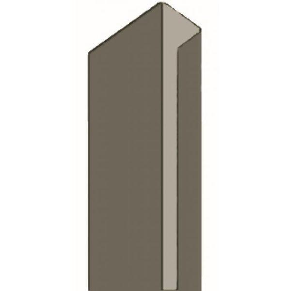 SOLID Einfassprofil PVC 12,5mm J / 300cm