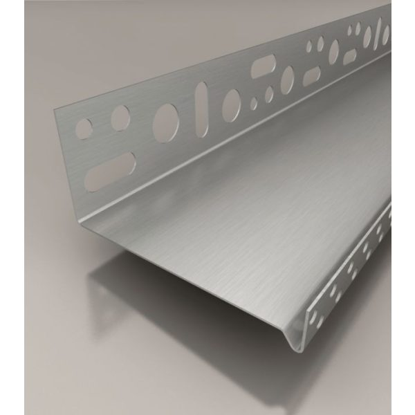 SOLID WDVS-Sockeltrogprofil ALU, 100mm