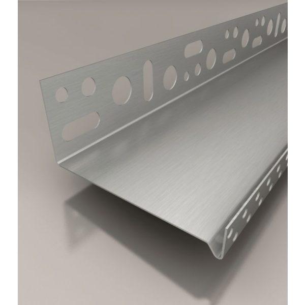 SOLID WDVS-Sockeltrogprofil ALU, 140mm