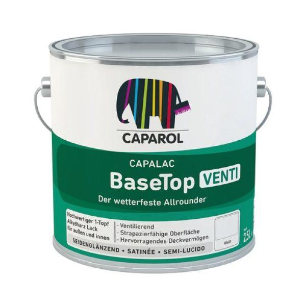 CAPAROL Capalac BaseTop Venti, 2,5 Ltr. weiß