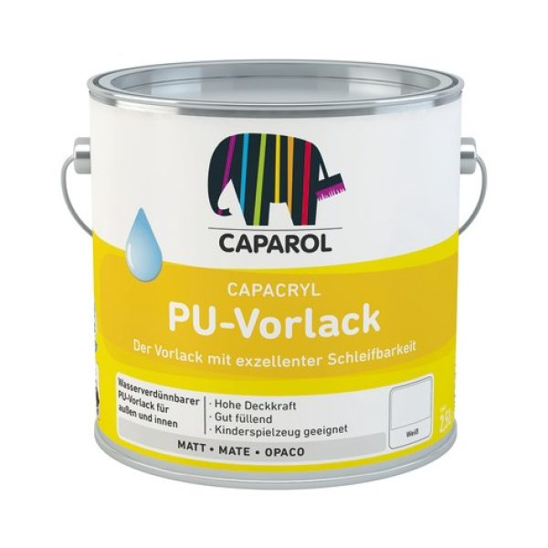 CAPACRYL PU-Vorlack Weiss 0,75 Ltr.