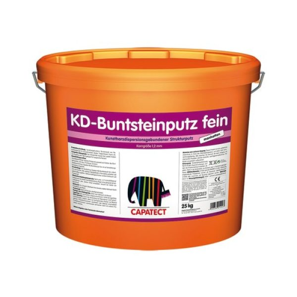 CAPATECT KD-Buntsteinputz Fein 25 Kg.