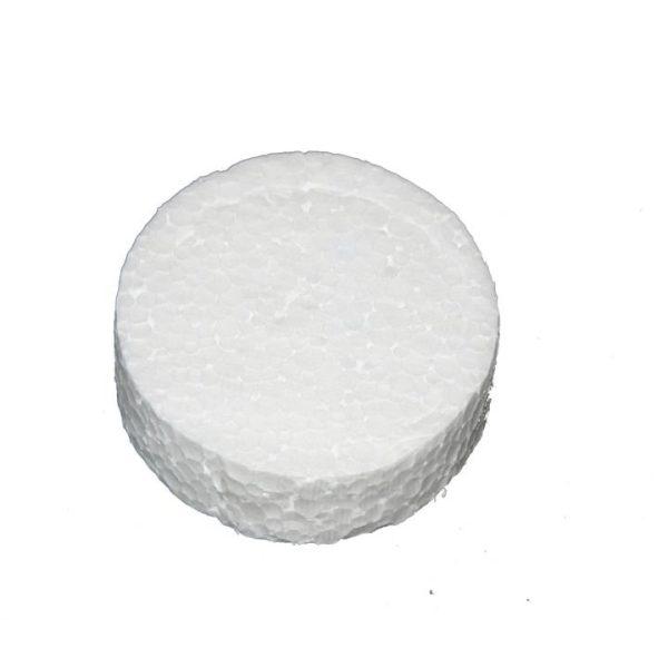 Styroporrondelle 67mm EPS - Weiß