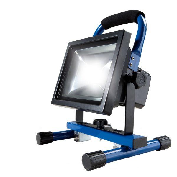 AS SCHWABE LED-Akku-Halogenstrahler 20 Watt