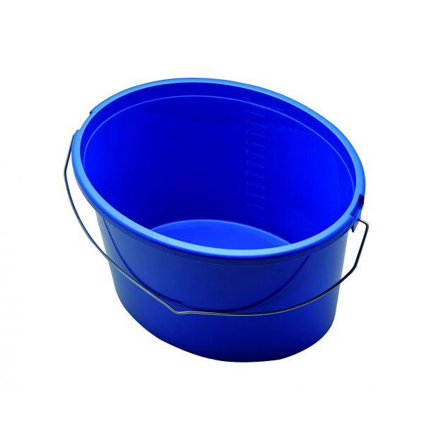 GEBOL Baueimer Blau Oval 12,5 Ltr.