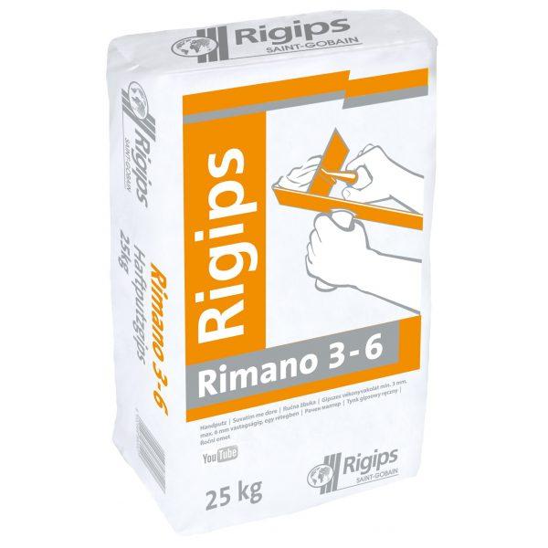 RIGIPS Haftputz Rimano 3-6 25Kg.