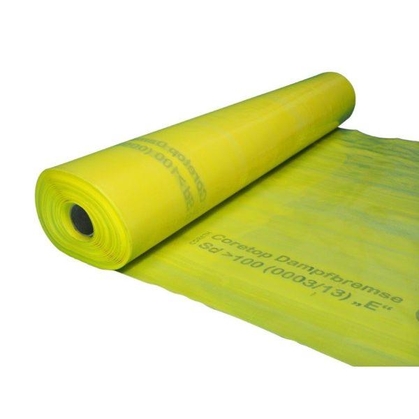"""CORETOP Dampfbremse gelb """"E"""" SD-Wert>100"""